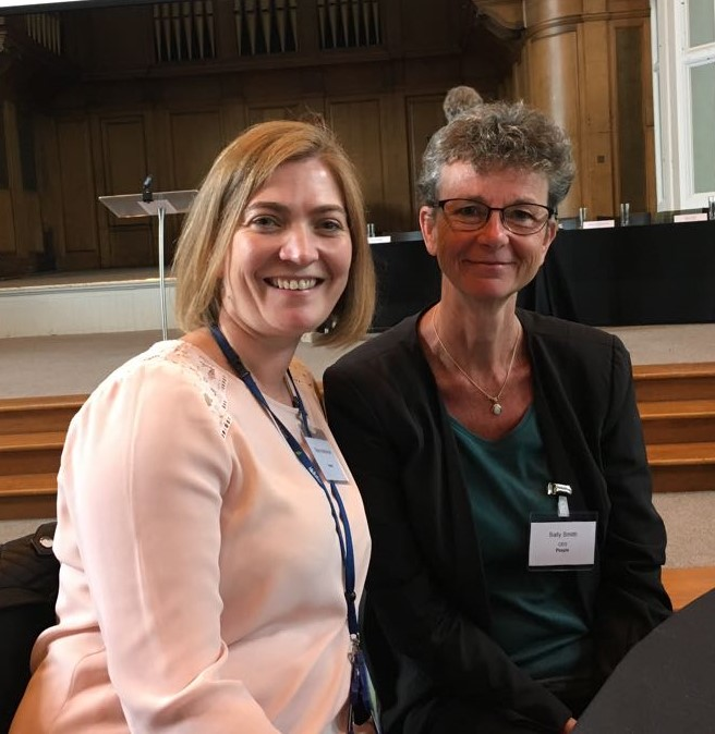 Early Learning Summit Scotland May18 - Sally and Sharyn