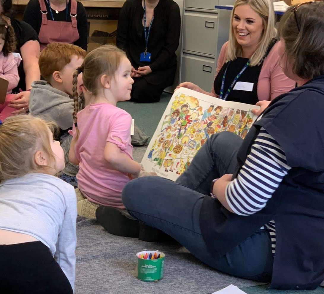Family Learning Scotland - storytime