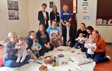 mark mcdonald launches report at baby peep