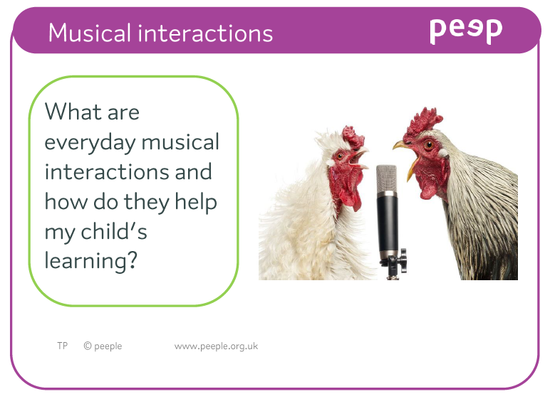 Topic card - CL Musical Interactions