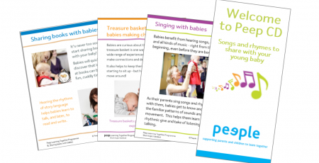 Baby pack leaflets (with Welcome CD)