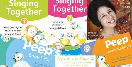 Peep Books and CDs bundle