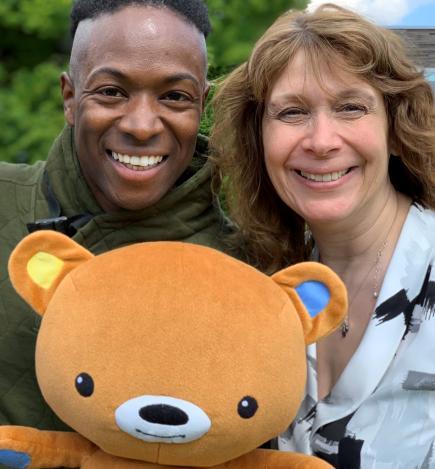 Baby Club - Nigel, Helen & baby bear