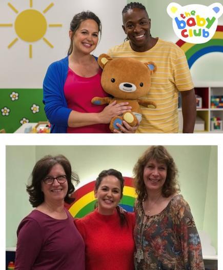 Baby Club (Gi & Nigel, and Anne, Gi, Helen)