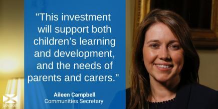FLS - Communities Secretary Aileen Campbell