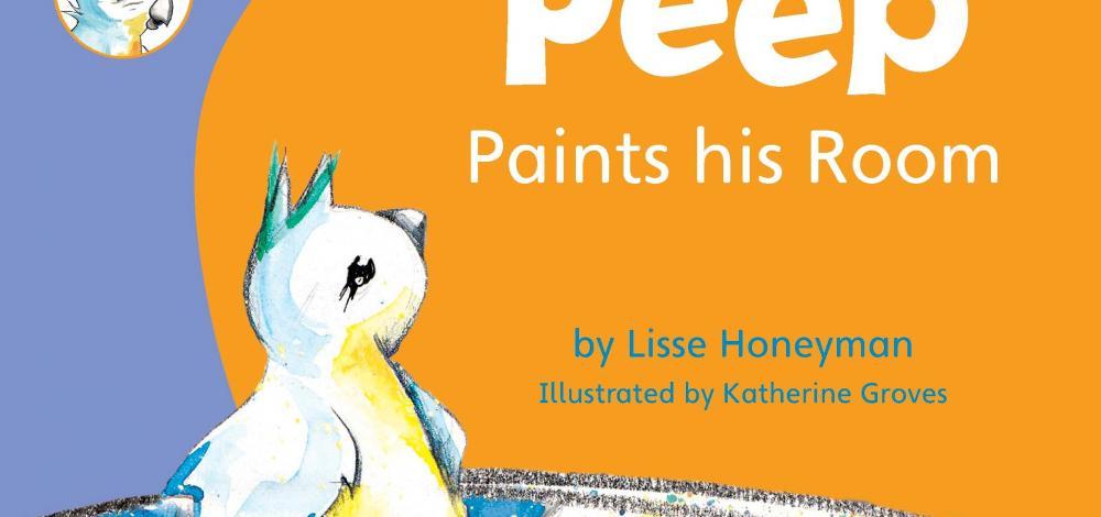 peep paints his room