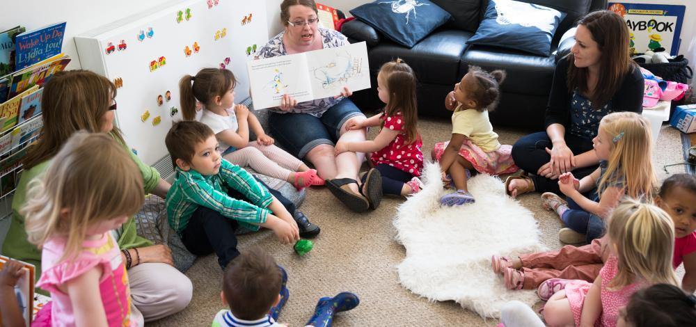 pre-school story time